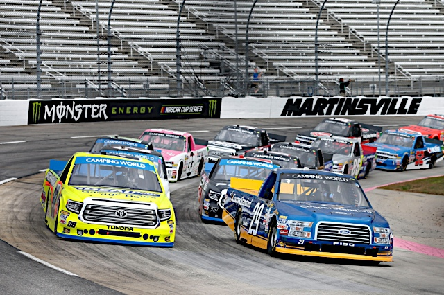 Playoff Points: Truck Series update leaving Martinsville