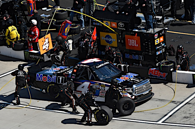 Restarts cause problems for Gilliland