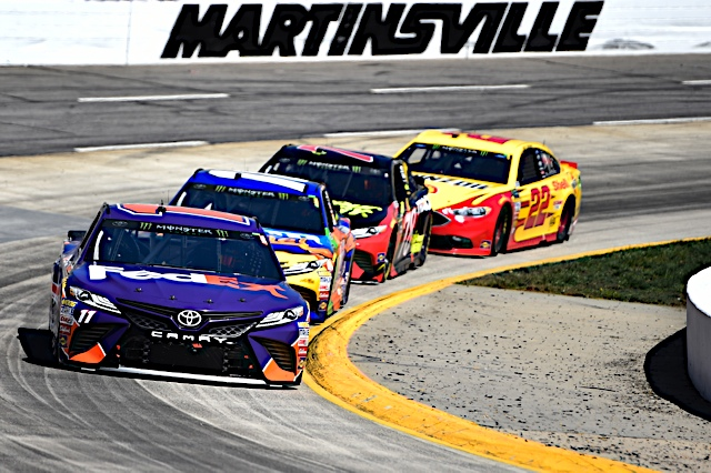 Hamlin Not Shocked by Clean Martinsville Cup Race