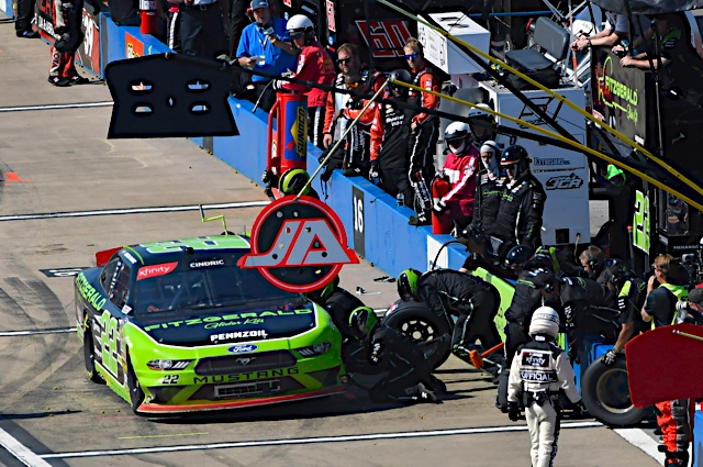 Not enough fuel saved for Cindric at Talladega