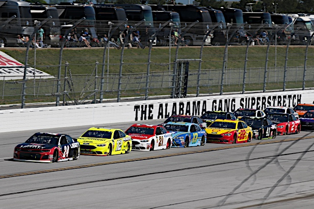 A Day Up Front Spoiled Late for William Byron