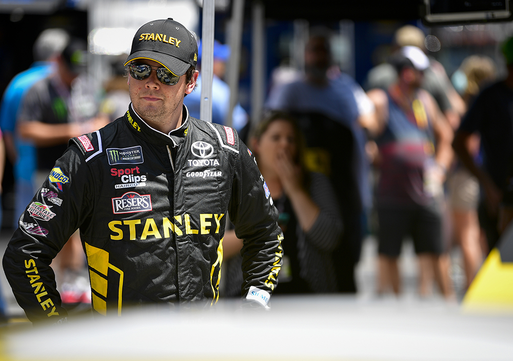 Erik Jones Overcomes Saturday Crash for 3rd on Sunday