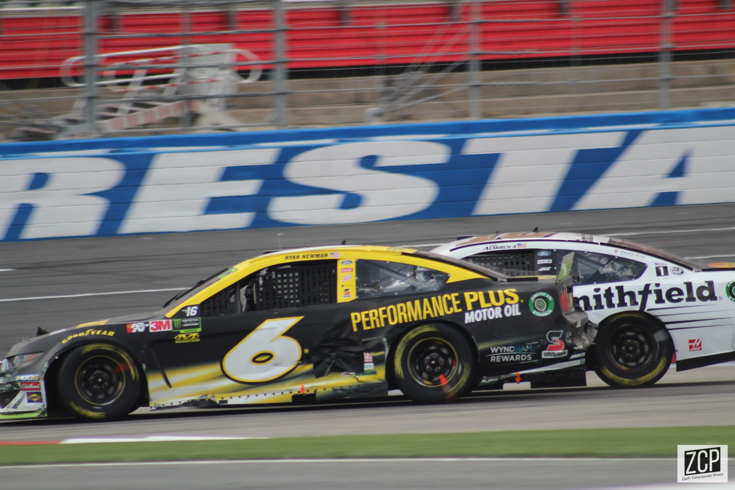 Costly mistake kicks Ryan Newman from playoff advance