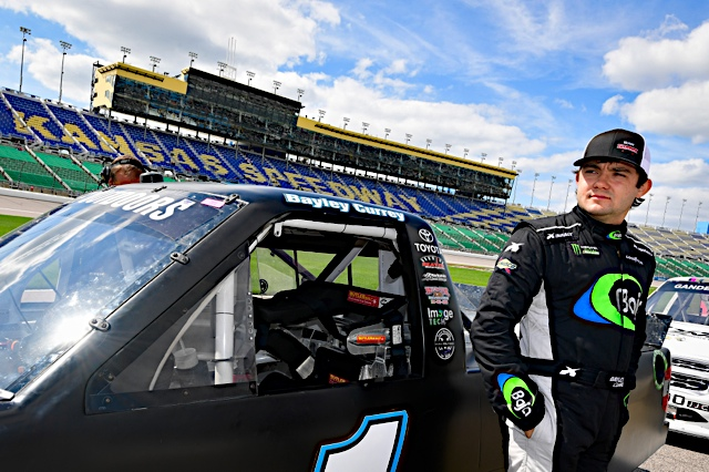 Currey joins CMI Motorsports for Vegas Truck Race
