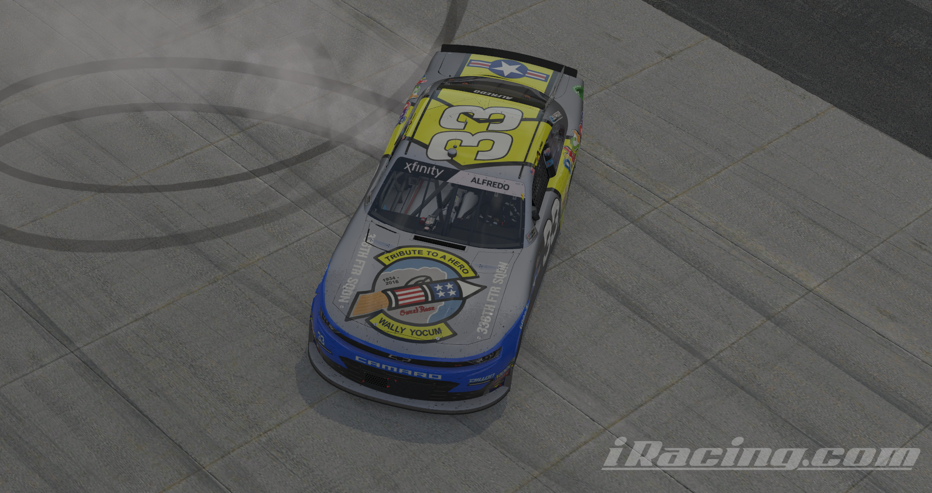 Alfredo serves up the competition at the Monster Mile