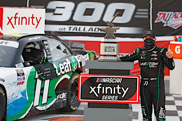 Haley joins the list of winners across all NASCAR National Series