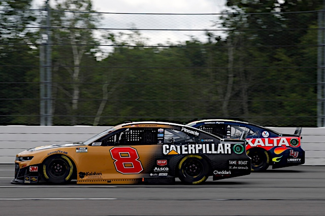 Reddick's day turns sour after Stage 2 wreck at Pocono on Saturday