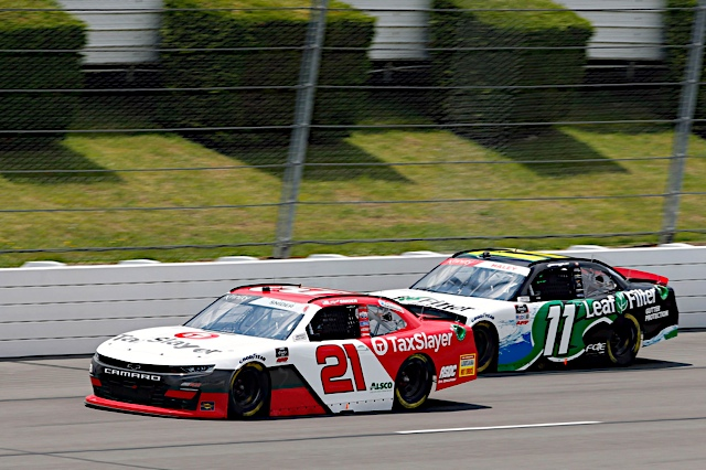 Snider earns career best finish at Pocono