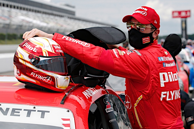 Michael Annett scores first top-five of 2020 at Pocono