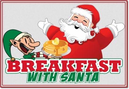 Santa Pancake Breakfast 2017