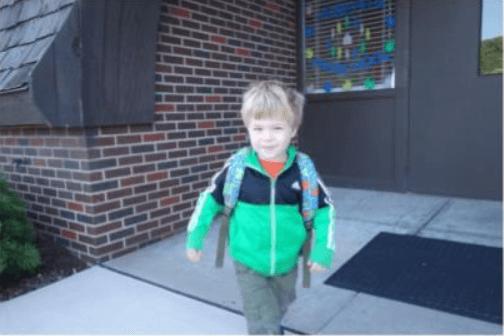 preschool child at st josephs