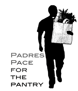 Padres pace for the pantry logo