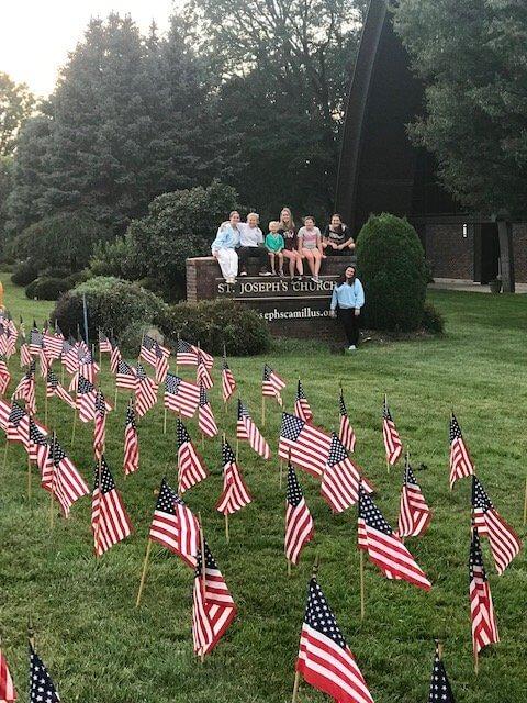 21-22 Flag volunteers pic 1