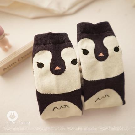 ARIM CLOSET - BRAND - Korean Children Fashion - #Kfashion4kids - Penguin Knee Socks