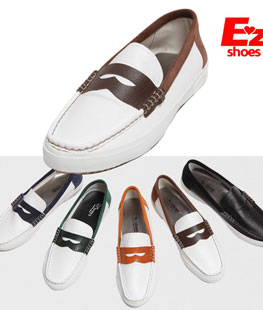 Junior PU Leather Loafer