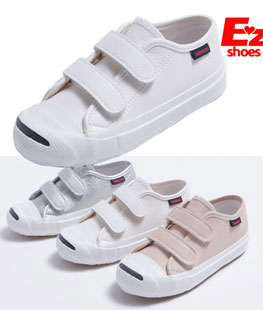 Unique Line Velcro Children Shoes
