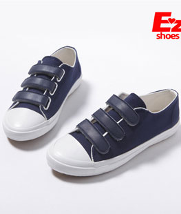 Canvas Three Band Velcro Shoes