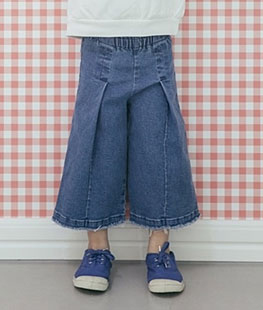 Denim Tong Pants