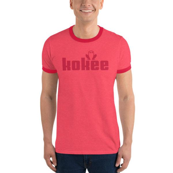 Kokee Ringer T-Shirt Red