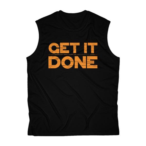 Get it Done Men's Sleeveless Performance Tee