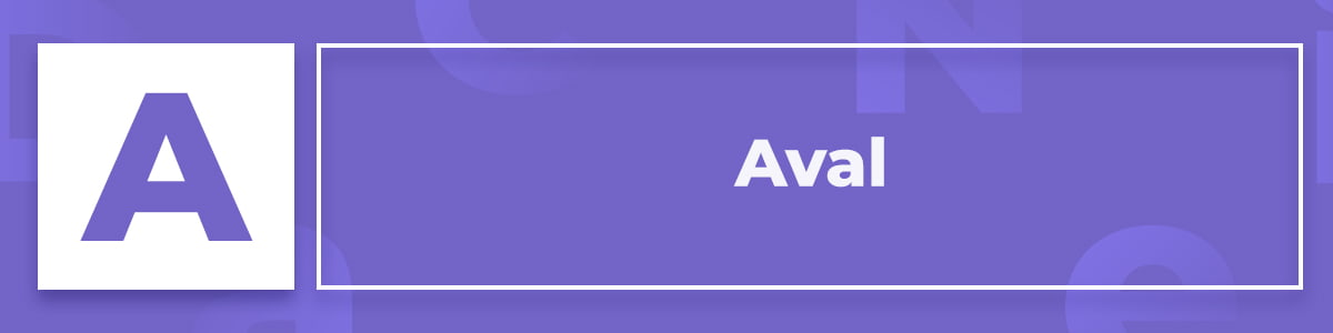 Qué es un Aval