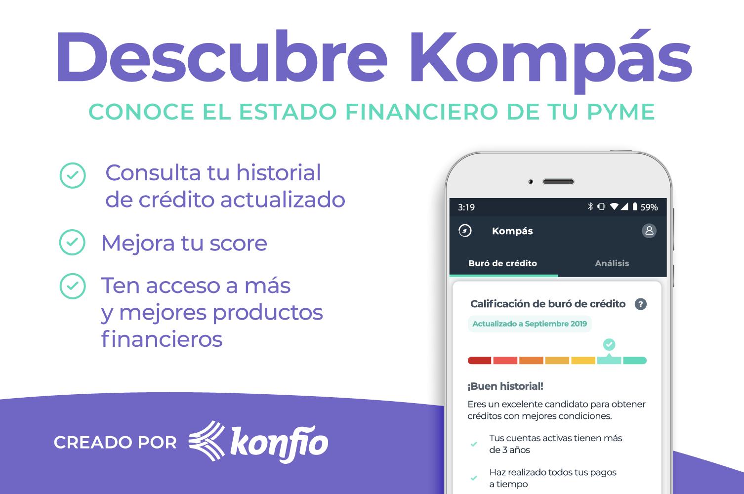 ¿Qué es Kompás? Herramienta para consultar gratis el buró de crédito