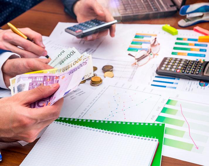 Equilibrar las finanzas de un negocio