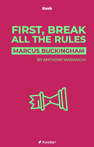First, break all the rules