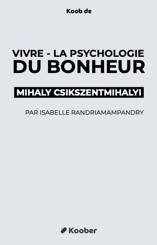 Vivre - La psychologie du bonheur