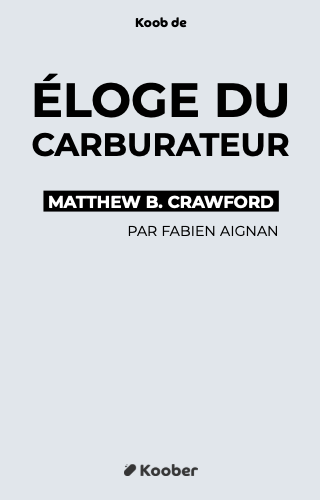 Éloge du carburateur