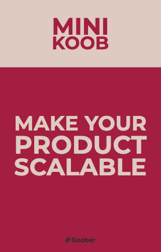Make your product scalable