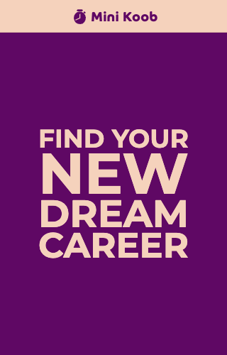 Find Your New Dream Career