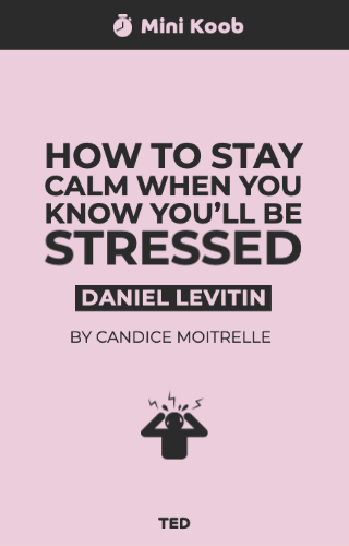 How to Stay Calm When You Know You'll Be Stressed