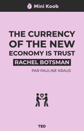 The Currency of the New Economy is Trust