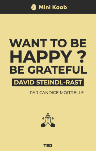 Want to Be Happy ? Be Grateful