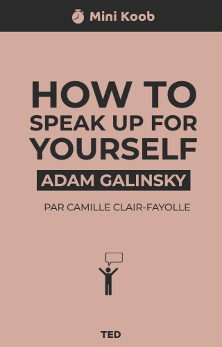 How to Speak Up for Yourself