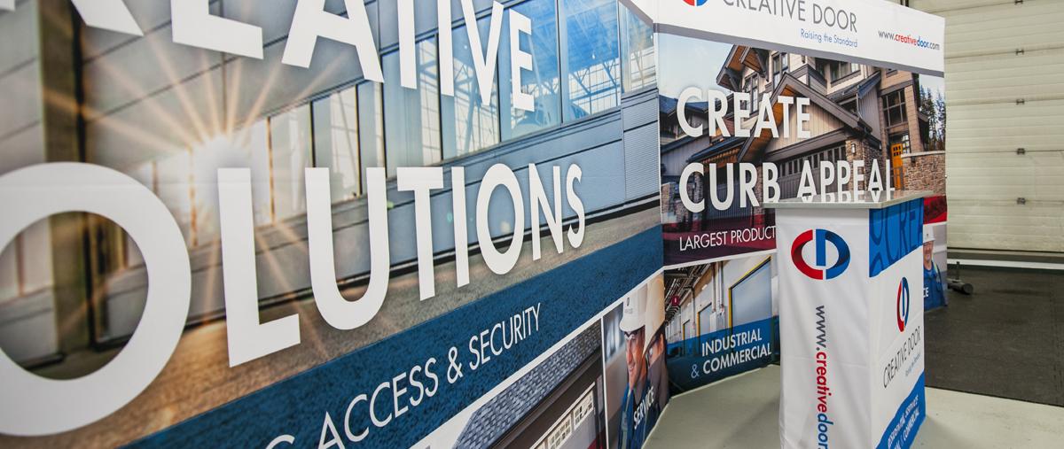 Trade Show Booth Edmonton : Keen print & sign edmonton area signs and displays custom trade