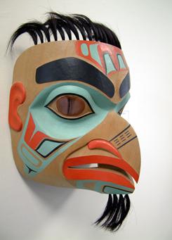 Chaak K'aa (Eagle Man Mask)