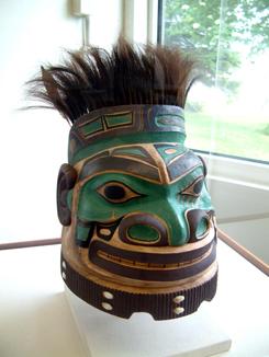 Tlingit War Helmet