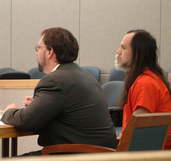 Defense Attorney Eric Hedland and John Marvin, Jr.