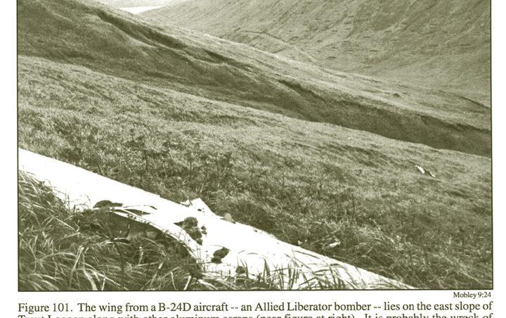 B-24 wreck site