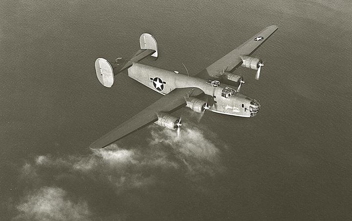 B-24 Liberator.