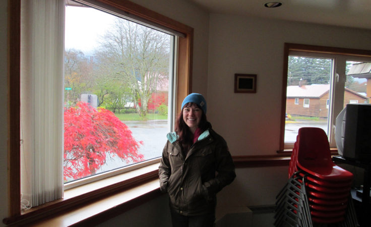 Hali Duran is the coordinator of the Northern Light United Church shelter.