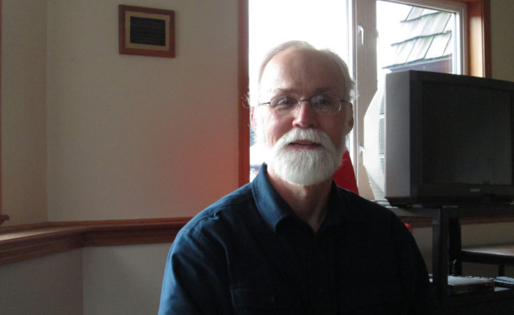Rev. Phil Campbell of the Northern Light United Church.