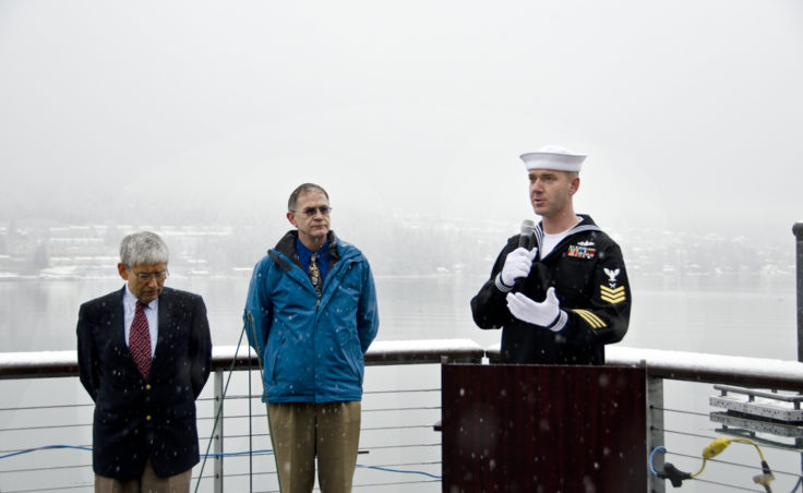 Petty Officer Gregory Cazemier, Jr. describes the events of the day the USS Juneau sank.