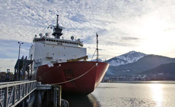 The icebreaker Healy stopped in Juneau at the beginning of November after another season'€™s work, and the ship'€™s crew invited the public aboard.