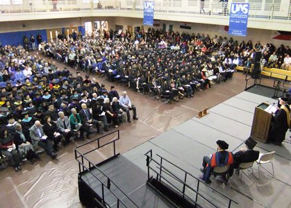 More than 620 University of Alaska Southeast graduates from three campuses celebrated their degrees. It was the largest graduating class in UAS history.