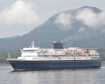AMHS ferry Kennicott in Ketchikan