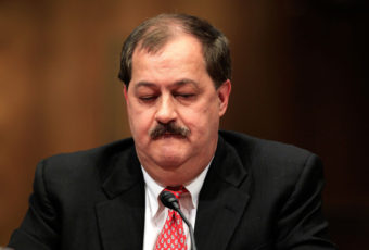 Former Chairman and CEO of Massey Energy Don Blankenship in 2010. Alex Wong/Getty Images