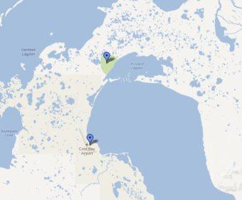 Izembek National Wildlife Refuge lies north of Cold Bay, Alaska